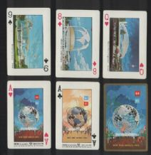 Collectible playing cards. New York World's Fair 1964